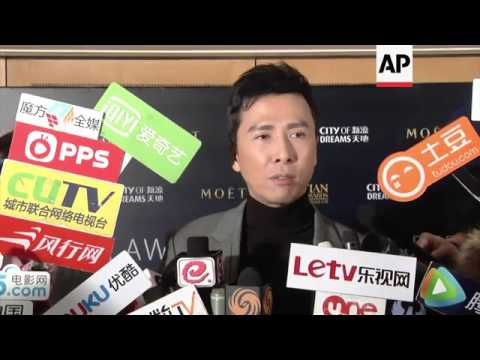 Donnie Yen announces nominations for the 8th annual Asian Film Awards