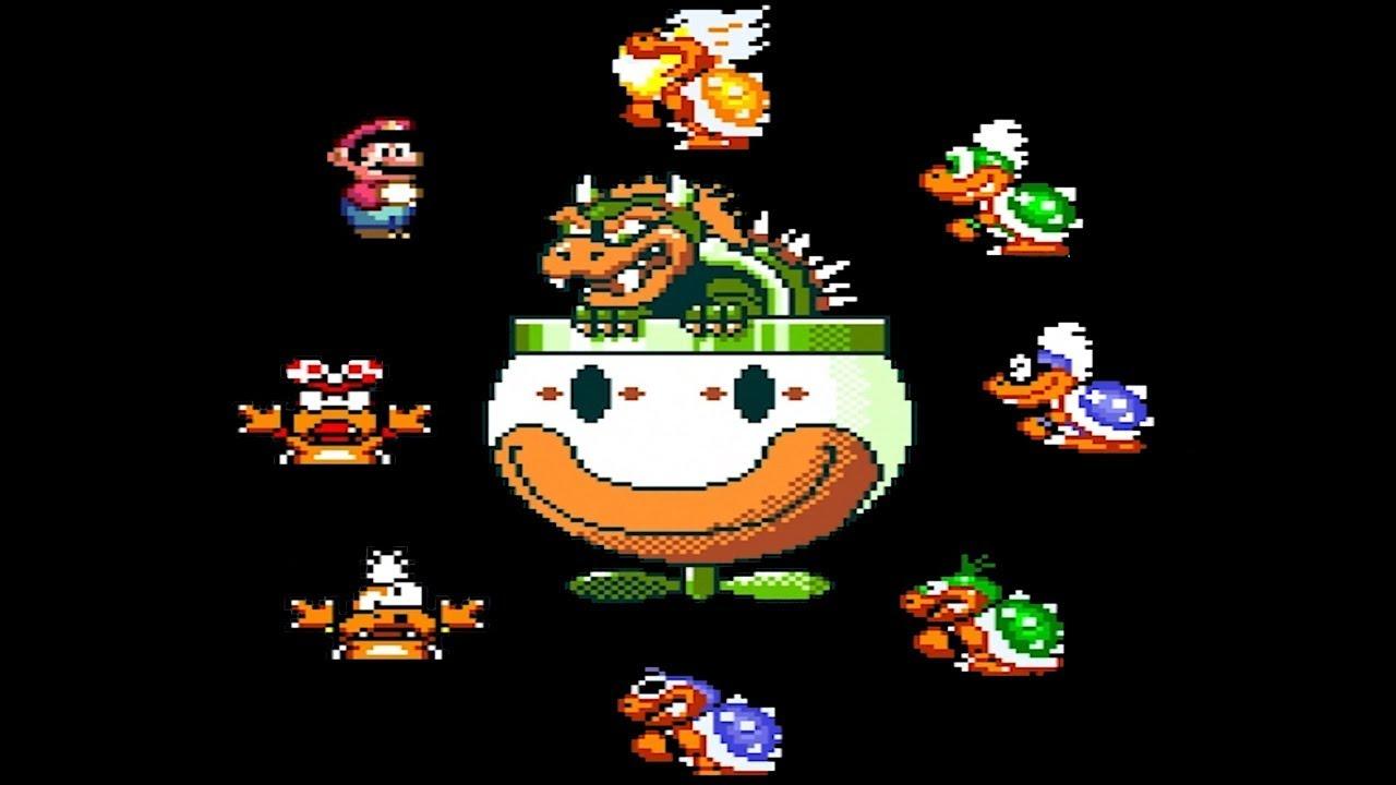 Super Mario World All Koopaling Boss Battles Youtube