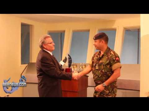 Lt. Col. Brian Gonsalves: Cablevision Community Service Award Ceremony