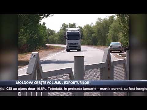 Moldova crește volumul exporturilor