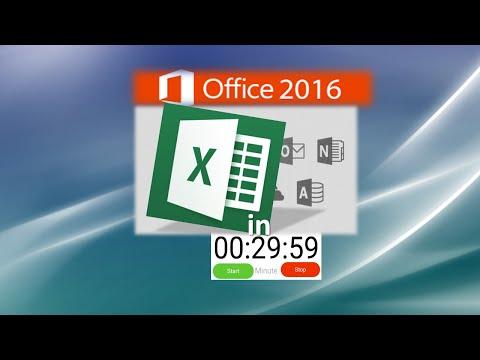 Hướng dẫn Excel: Tìm hiểu Excel trong 30 phút - Vừa phải cho ứng dụng công việc mới của bạn