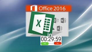 Excel Tutorial: Learn Excel in 30 Minutes - Just Right for your New Job Application thumbnail
