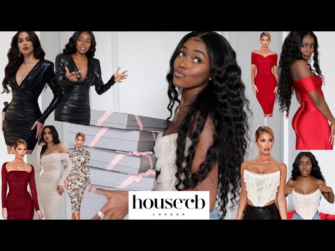 HOUSE OF CB | VALENTINES DAY COLLECTION TRY ON HAUL ♡