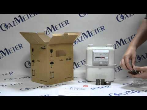 Обзор газового счетчика Gallus 2000 G4 от интернет магазина GazMeter.com