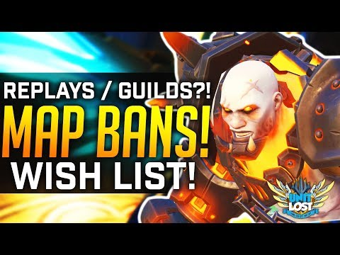 Map BANS?! - Guilds?! - Replays!? The Overwatch Wish List! thumbnail