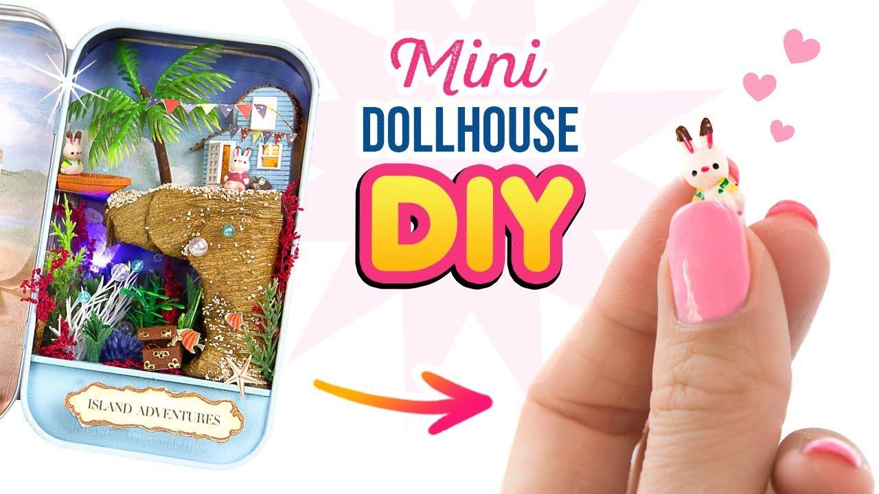 Cuteroom DIY Dollhouse Miniature LED Light Box Theatre Gift Decor Collection