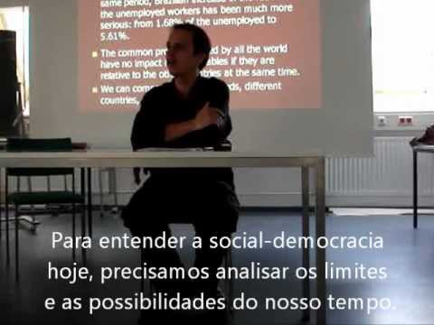 """Studying Social Democracy"" - Guilherme Simões Reis - Uni-Frankfurt (Legendado)"