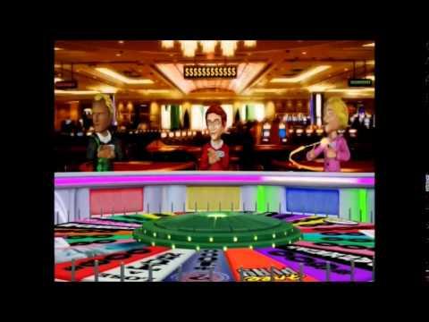 Wii U Wheel Of Fortune Wheel In Las Vegas At Venetian Thursday Show