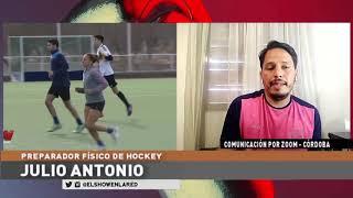 Hockey   Julio Antonio, preparador físico en El Show En La Red 16 09 2020