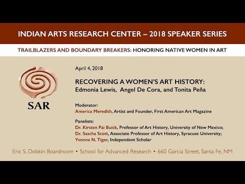 Recovering a Women's Art History: Edmonia Lewis, Angel De Cora, and Tonita Peña