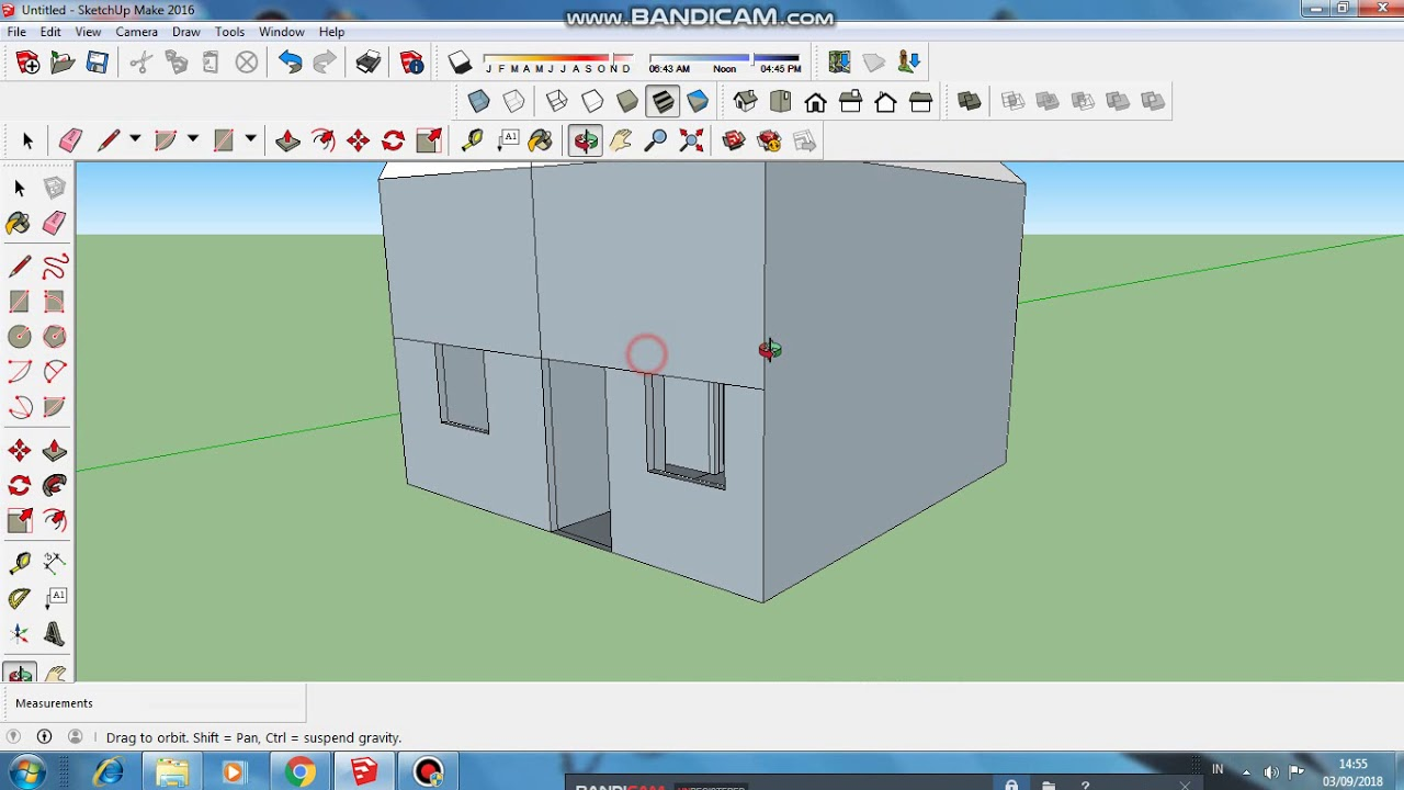 Sketch up rumah sederhana 3d youtube sketch up rumah sederhana 3d asfbconference2016 Images