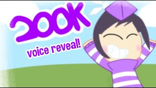 OFFICIAL ROBLOXMuff VOICE REVEAL! (200k Subscribers Special)