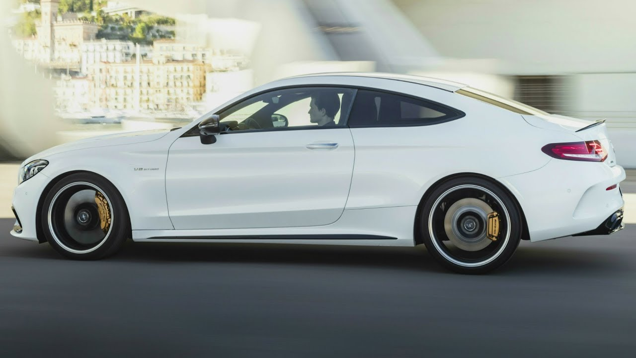 2019 Mercedes Amg C 63 S Coupe V8 Biturbo Closely Related To Amg Gt Engine