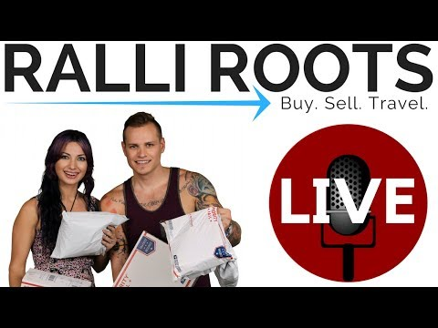 LIVE: 1 YEAR ON YOUTUBE! - eBay / Amazon Resellers - Ralli Roots AMA Special :)