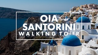 Why is every Instagrammer in love with Santorini: Walking in Oia