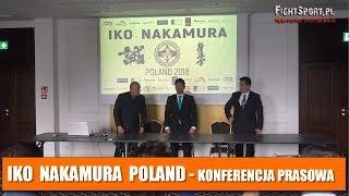 IKO Nakamura Poland 2018 - konferencja prasowa, Białystok 27.06.2018