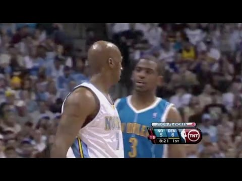 Chauncey Billups Exposes Chris Paul's Overrated Defense (Incomplete) - 2009 Playoffs 1st Rd