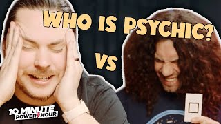 Testing our PSYCHIC Abilities (ft. Mortemer) - 10 Minute Power Hour
