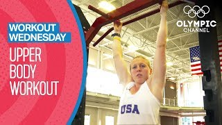Upper Body Workout ft. Kendall Coyne | Workout Wednesday