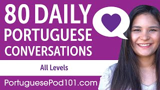 Baixar 2 Hours of Daily Portuguese Conversations - Portuguese Practice for ALL Learners