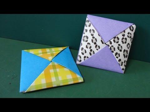 簡単 折り紙 折り紙 めんこ : edizon.net