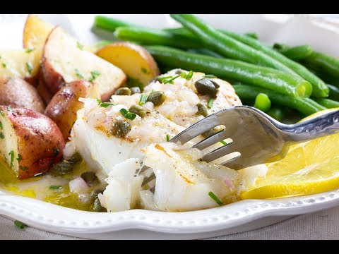 Lemon Caper Fish Fillets