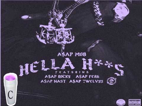 Asap Mob Hella Hoes Screwed & chopped