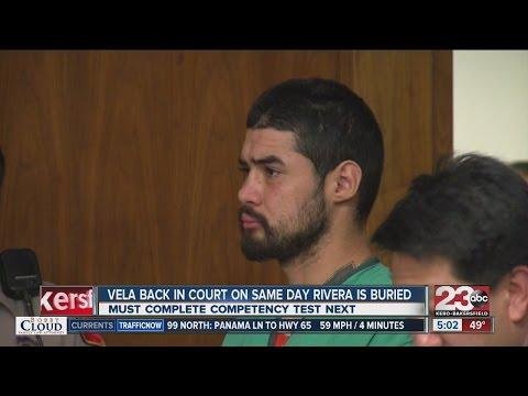 Manuel Vela back in court on same day Katrina Rivera is buried