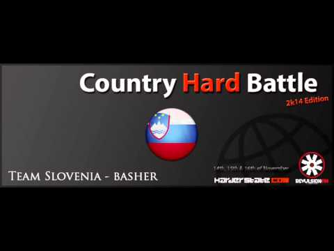 bAsher @ Harderstate Country Hard Battle 2014 (Team Slovenia)