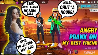 Angry Prank On My Best Friend Gone Emotional || Rahul Gamer