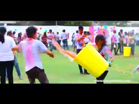 Holi in the city 2k18  |colorful Holi festival | Jenney's Residency | Coimbatore