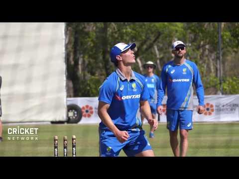 Australia arrive in Darwin for training camp