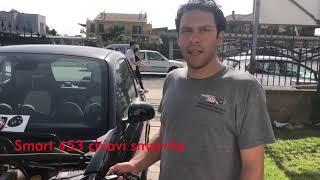 Smart 453 con chiavi smarrite a Roma