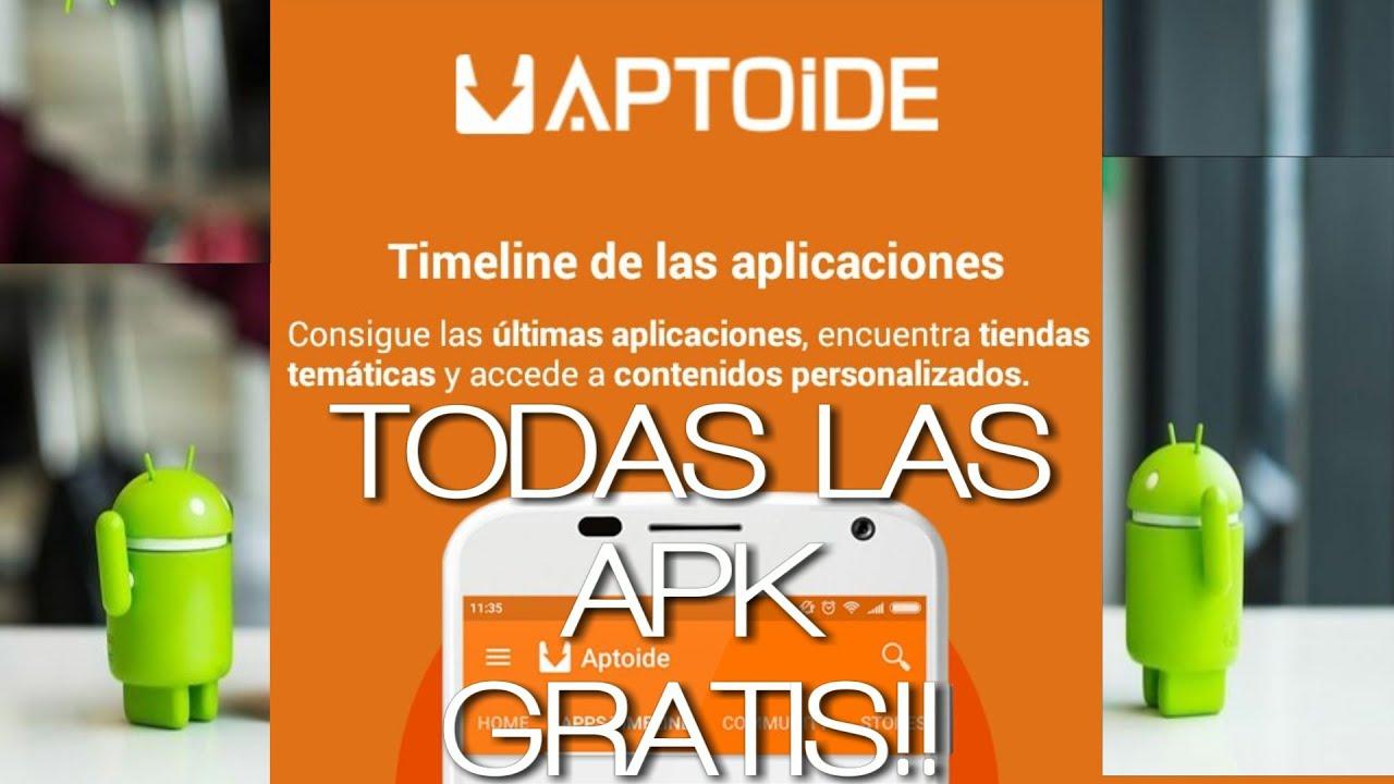 INSTALAR APLICACIONES GRATIS Aptoide apk Market libre Android Play Store google play freeapk apkfull  #Smartphone #Android