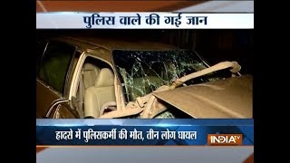 Constable dead, 3 injured in accident on Eastern Expressway in Mumbai
