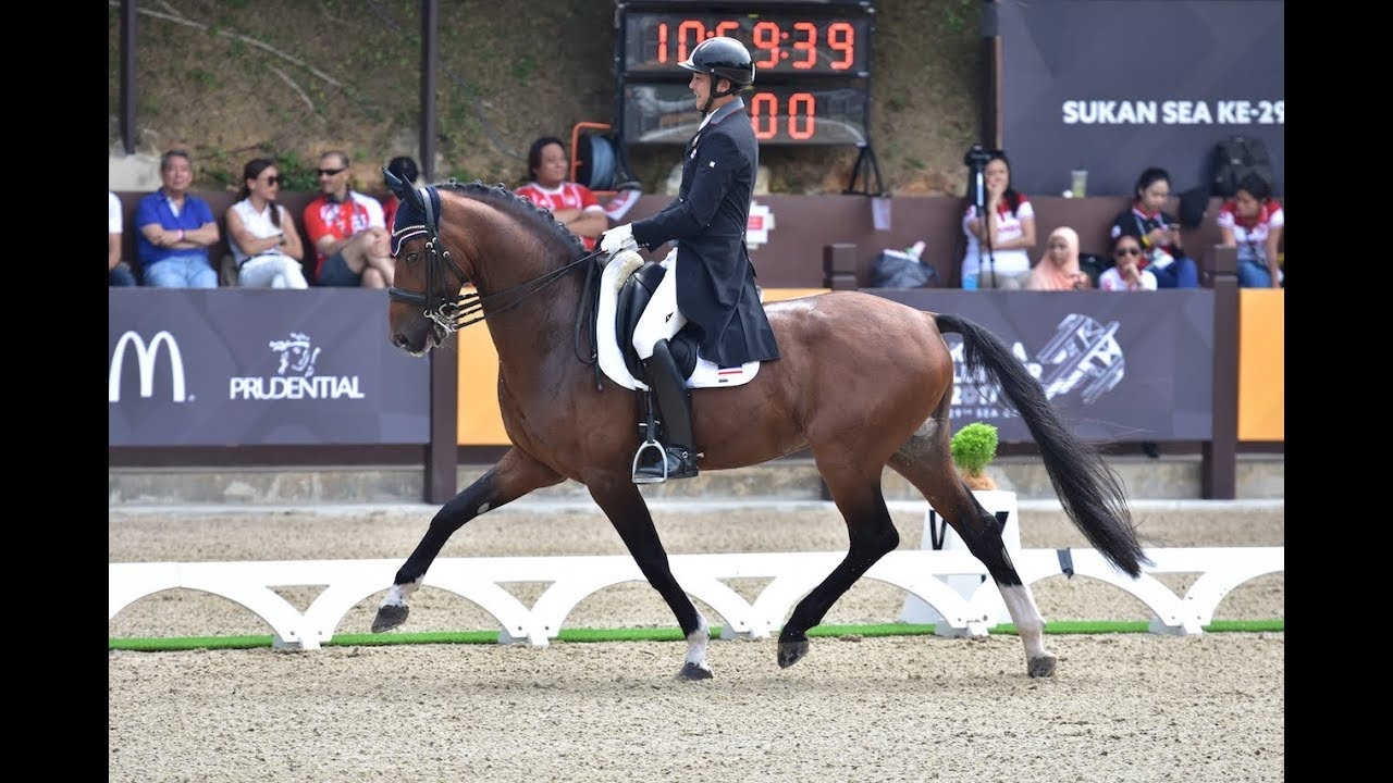 Chalermcharn Yotviriyapanit & Best of Nymphenburg, SEA Games 2017, Team Silver 69.026%