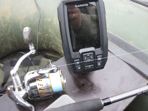 garmin striker 4 зимой видео