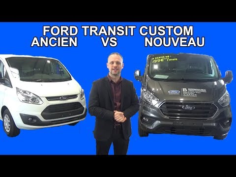 les tutos de berbi comparatif ancien nouveau ford transit custom youtube. Black Bedroom Furniture Sets. Home Design Ideas