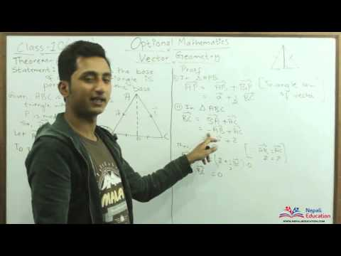 Optional Mathematics Vector Geometry Theorem 6
