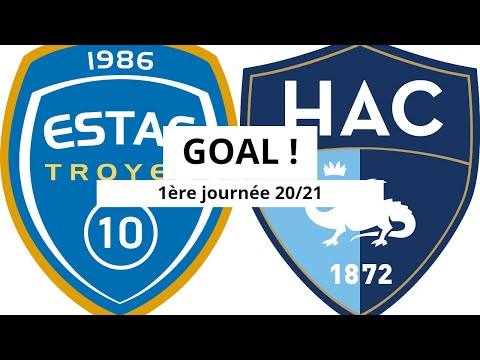Troyes Le Havre Goals And Highlights