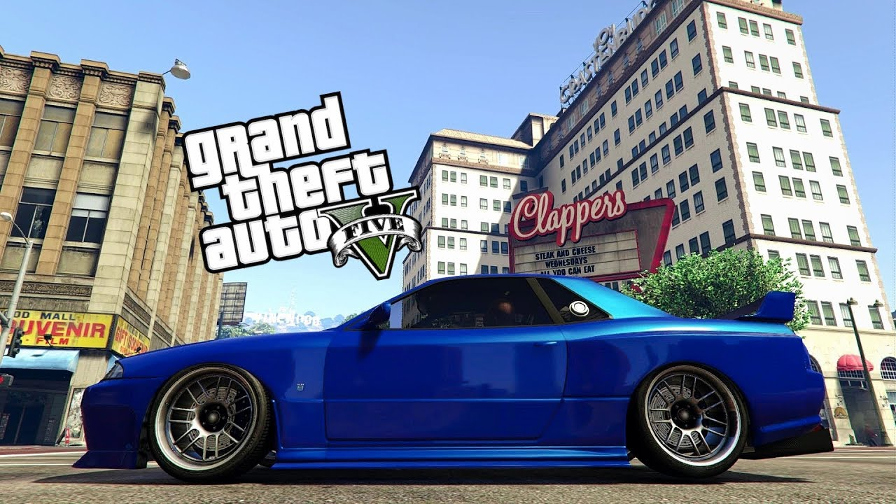New Sub Special Modded Crew Color Bayside Blue Nissan Skyline