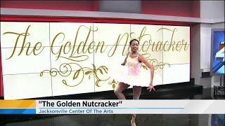 The Golden Nutcracker performs at News4Jax