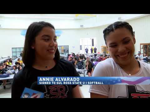 RGV athletes sign letters of intent