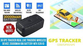 GPS Tracker, Car Finder Magnetic Vehicle Tracker 4G/3G/2G Unlock SIM Card Car Tracker