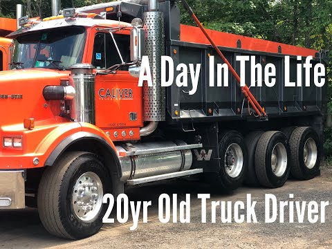 A Day In The Life 20yr Old Truck Driver