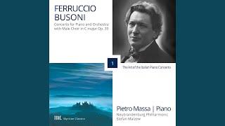 Piano Concerto in C Major, Op. 39, BV 247: IV. All'Italiana. Vivace (Live)