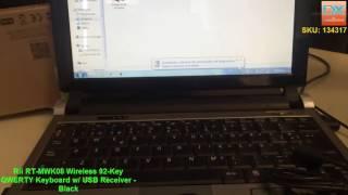 Rii RT-MWK08 Wireless 92-Key QWERTY Keyboard
