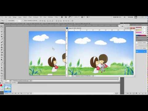 การทำภาพเคลื่อนไหว โดยใช้โปรแกรมAdobe Photoshop CS3
