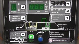 R-Tech Digital Tig Welder AC/DC 210 AMP  Review  Part One