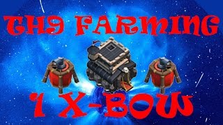 Best TH9 Farming Base Ever! 1 X-BOW! (Clash of Clans)